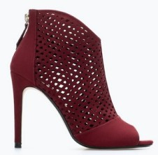 Cut-Out Shoe Booties, $89.90, zara.com
