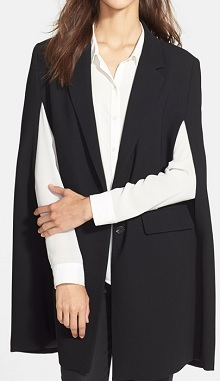 Vince Camuto Notch Collar Cape Coat, $119.40, nordstrom.com
