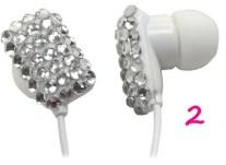 iHip Rhinestone Earbud Headphones, $9.95, amazon.com