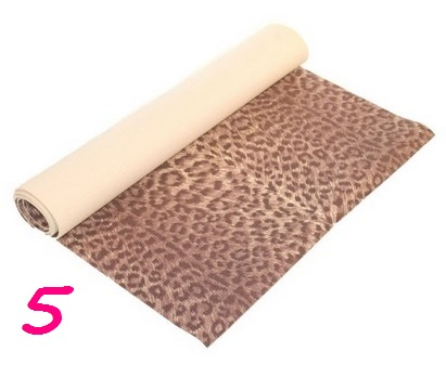 j/fit Leopard Print Yoga Mat, $23, amazon.com