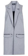 Sleeveless Ponte Jacket, $80, topshop.com