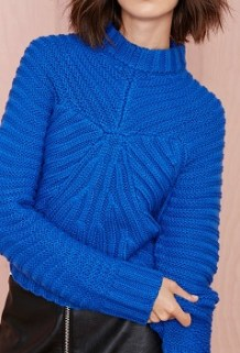 Christine Crop Sweater, $78, nastygal.com