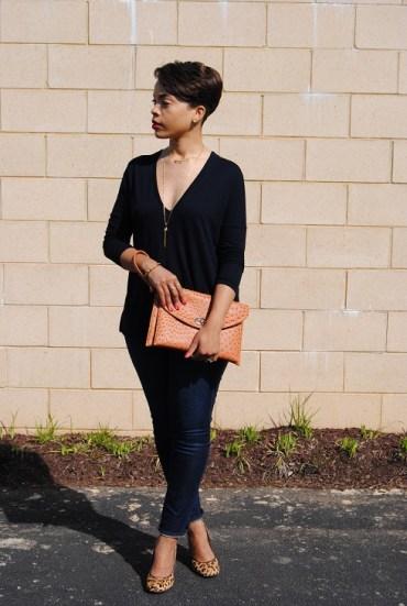 What I'm Wearing: Plunging Neckline