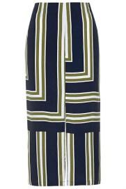 Striped Split Midi Skirt, $68, topshop.com