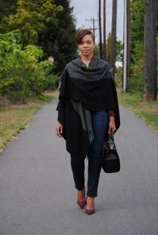 What I'm Wearing: Fringe Cape