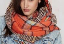 Zoey Blanket Scarf, $28, nastygal.com