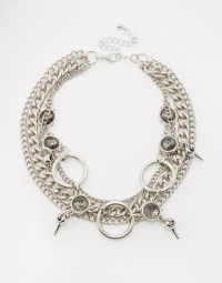 ASOS Metal Chain Choker Necklace, $21, asos.com
