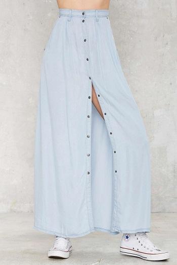 Bohemian You Maxi Skirt, $68, nastygal.com