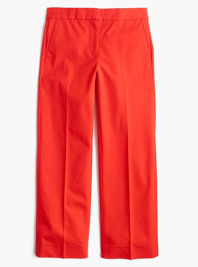 Patio Pant in Bi-Streth Cotton, $49.99, jcrew.com