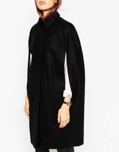 ASOS Cape With Raglan Sleeves, $68, asos.com
