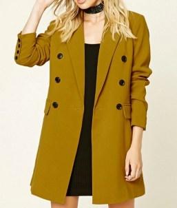 Flap Pocket Coat, $45, forever21.com