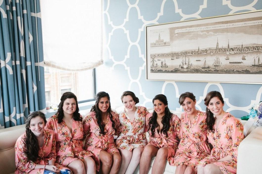 Hotel Monaco Philadelphia Wedding Getting Ready Location | www.thestyledbride.com