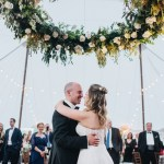 Neutral Palette Nautical Wedding at a Private Home in Maryland   www.thestyledbride.com