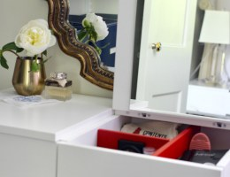 Small Spaces Decor Inspiration: How to Create a Vanity in Your Closet