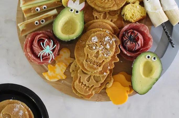 Simple Halloween Snack Board Ideas for Kids