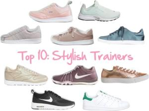 Top 10: Stylish Trainers