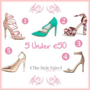 Friday 5 Under €50 – Heels