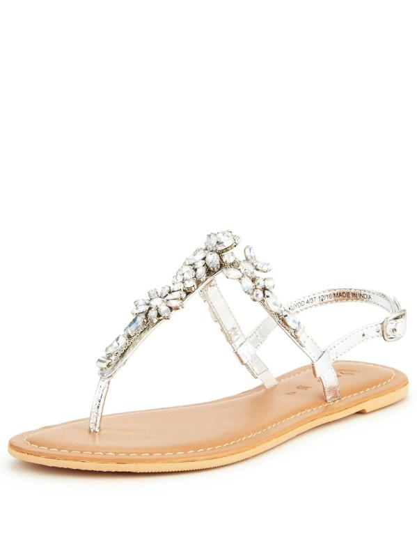 embellished sandals, €35 Shop here