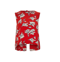 River Island Bow Back Top