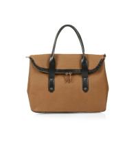 Topshop Fold-Over Front Bag