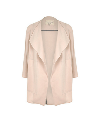 River Island Relaxed Crepe Coat
