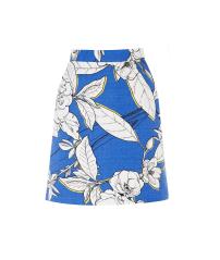 Warehouse Floral Pelmet Skirt