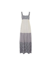 Tiered Floral Print Maxi Dress by Topshop Archive