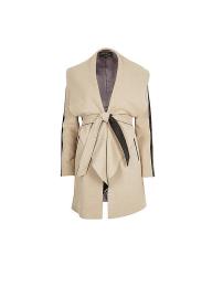 River Island Belted Wool Blend Wrap Coat, £80