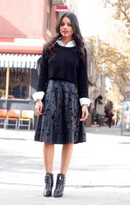 black-jumper-midi-skirt