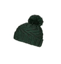 Topshop Cable Knit Pom Beanie