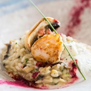 Amalfi. Cosa fare e dove mangiare. Ristorante Marina Grande risotto - thestylelovers.com