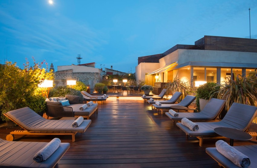 Boutique hotel di lusso a Barcellona - Mercer Hotel Barcelona terrace - thestylelovers.com
