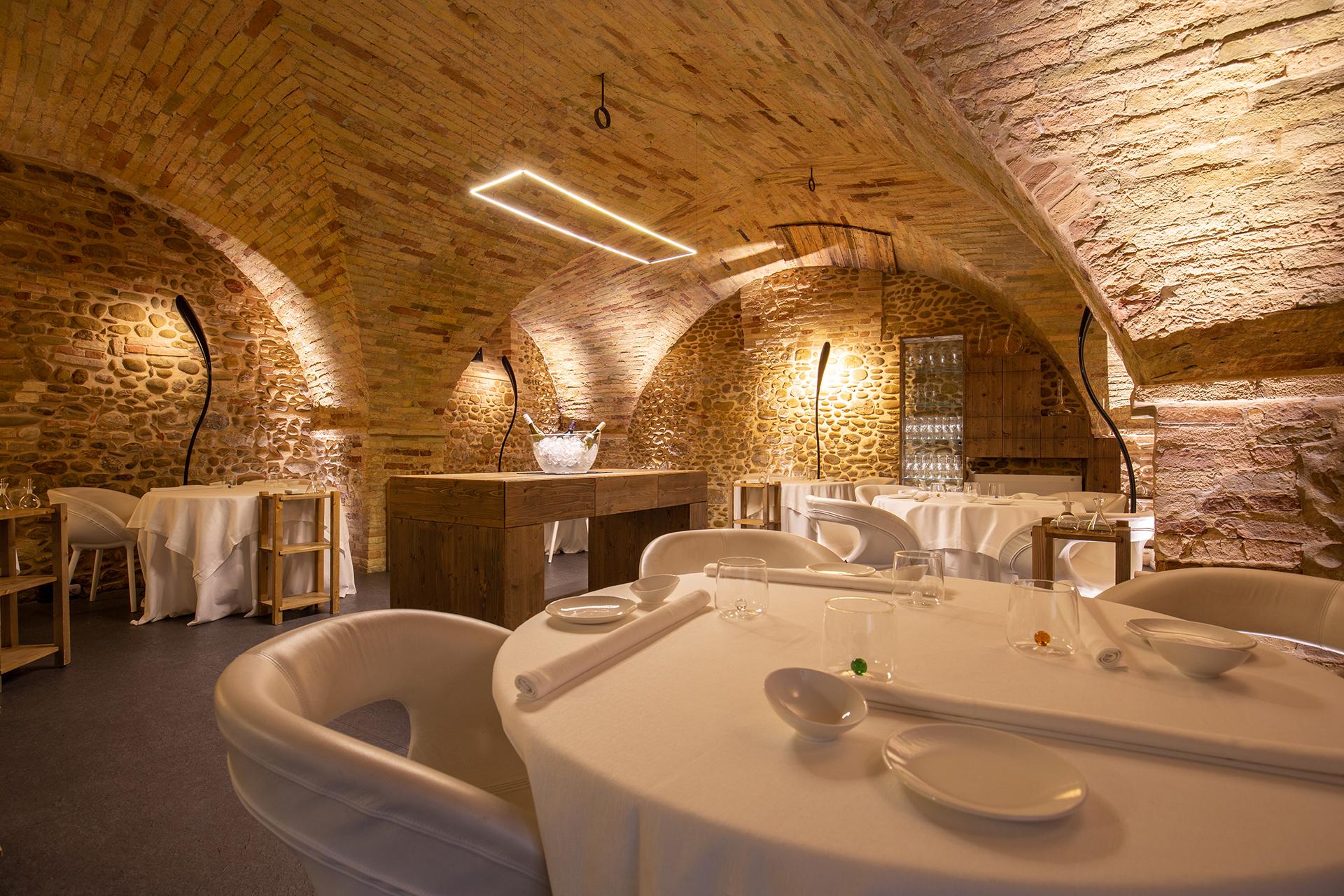 D.One ristorante stellato in Abruzzo sala location