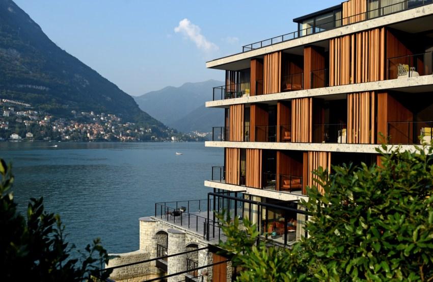 Il Sereno design hotel di lusso sul Lago di Como architettura - thestylelovers.com