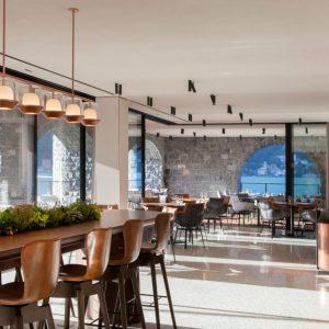 Il Sereno design hotel di lusso sul Lago di Como ristorante interno - thestylelovers.com