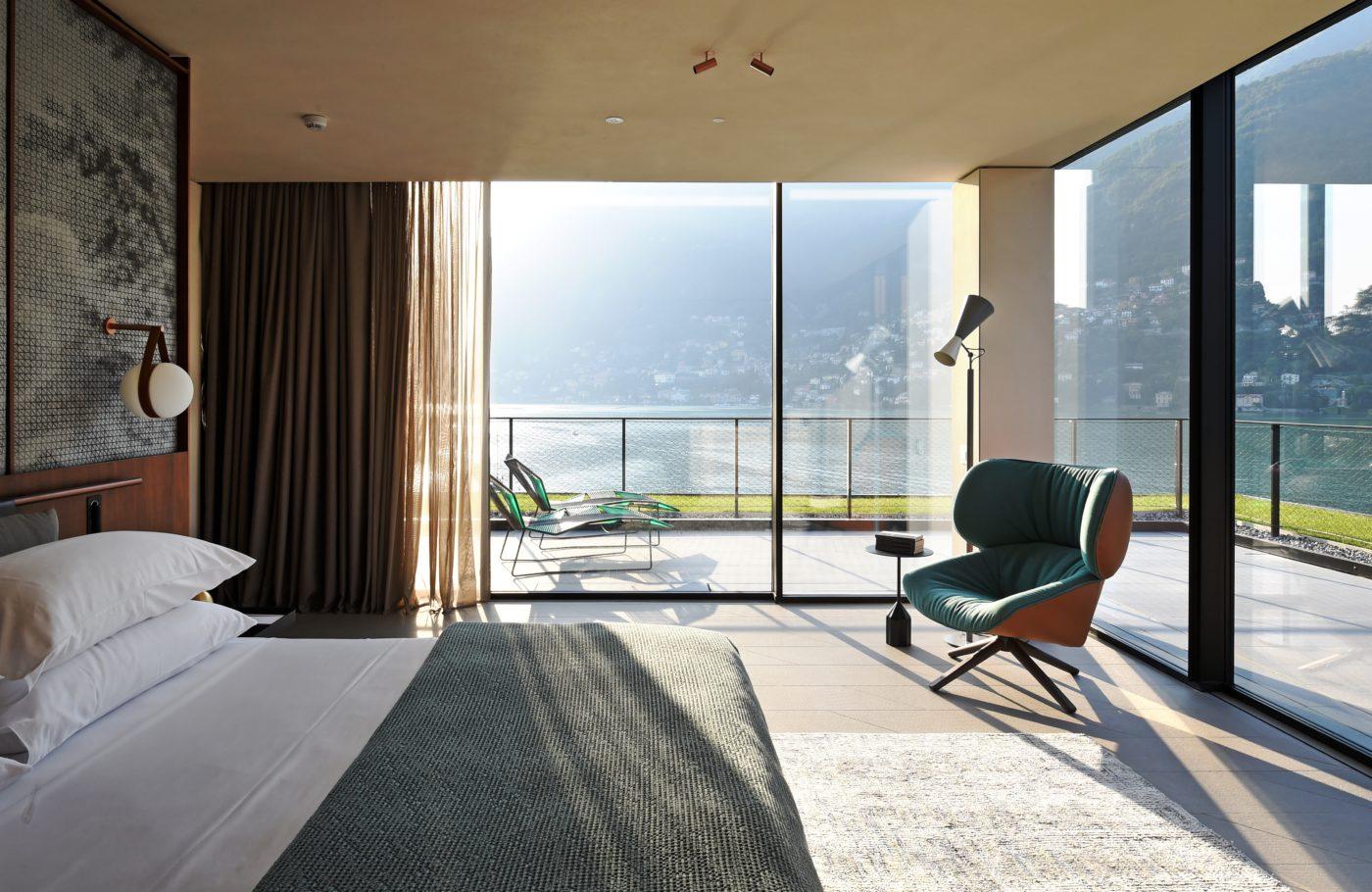 Hotel Di Lusso Interni : Il sereno design hotel di lusso sul lago di como suite interno