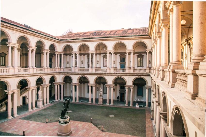 Milano visitare Brera - Pinacoteca di Brera - thestylelovers.com
