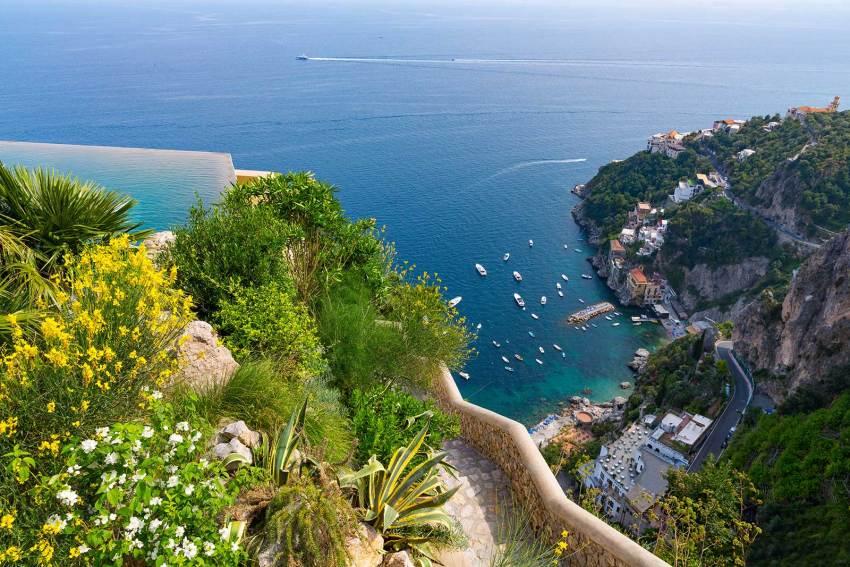 Monastero Santa Rosa. Amalfi - vista -thestylelovers.com