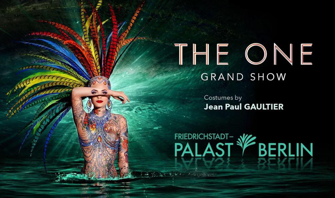 THE ONE Grand Show Berlino_locandina teatro_Friedrichstadt_Palast - thestylelovers.com