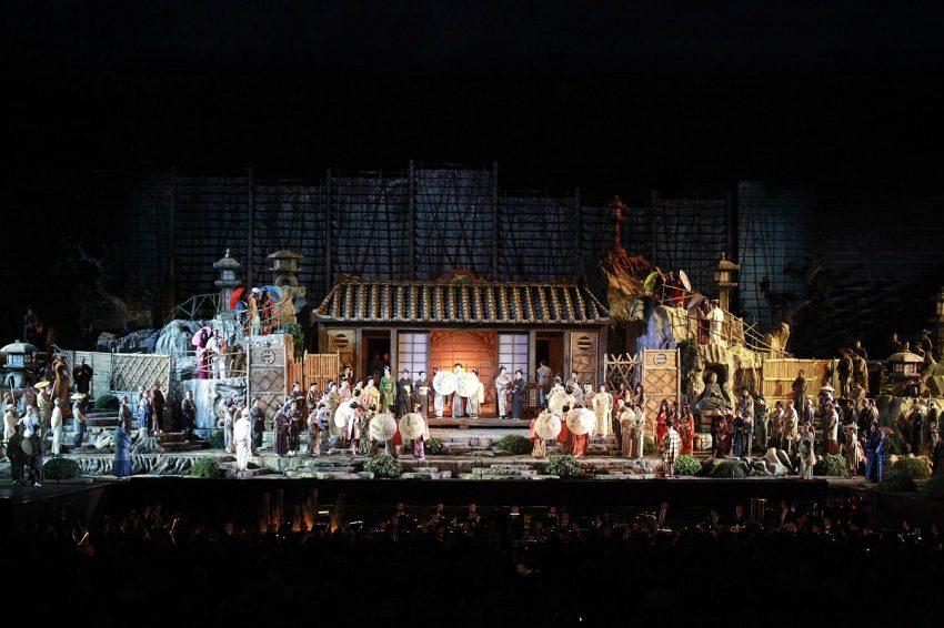 Una serata all'Arena di Verona_Madama Butterfly_Foto Ennevi2014