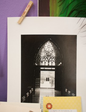 I got lost in a snowstorm this past winter and found this beautiful old church. I fell in love with the architecture and photographed it for a school project. As an artist, I'm rarely satisfied with my work. This is one of my favorite pieces I've ever produced.