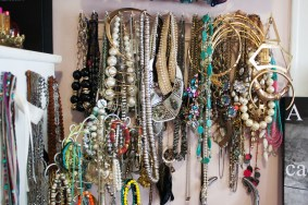 My roommates come to me whenever they need jewelry to complete their outfit. I pretty much have everything in all colors, sizes and shapes.