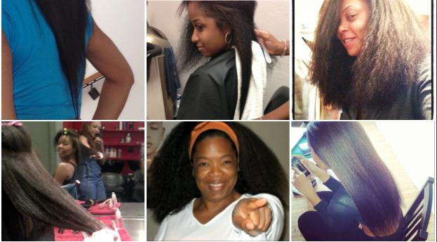 Angela Simmons Shows Off Her Natural Waist Length Hair