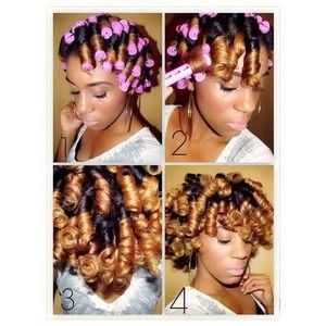 perm rod hair inspirations from pinterest the style news network