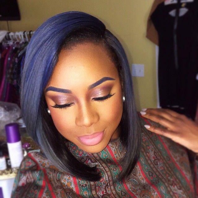 Unique Hair Color On Black Women