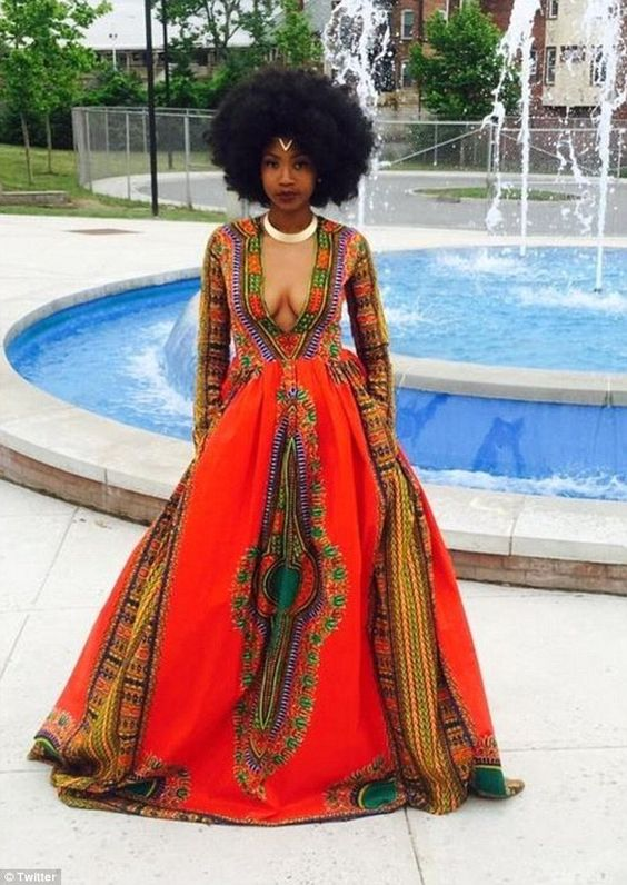 #Slayed - 30 Times African Print Prom Dressed Stole The Scene
