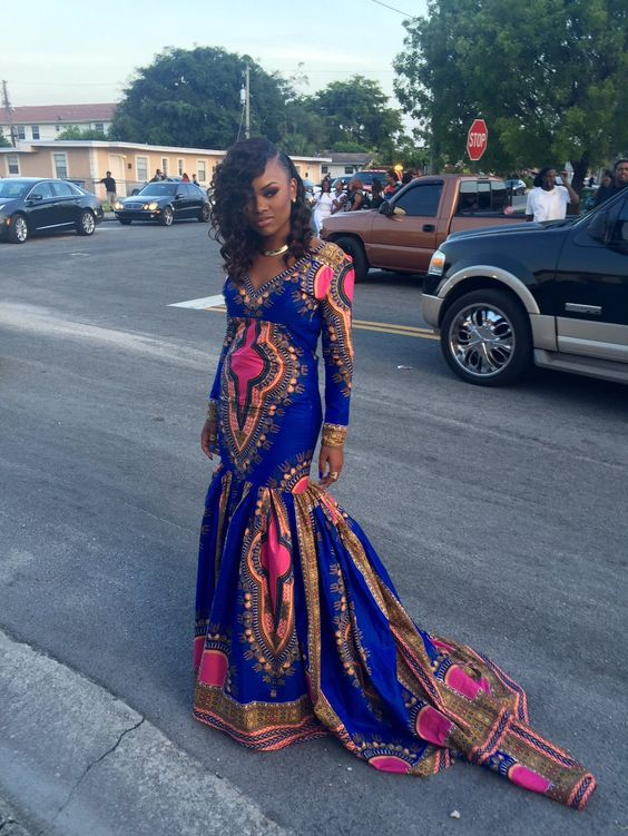 #Slayed - 30 Times African Print Prom Dressed Stole The Scene16