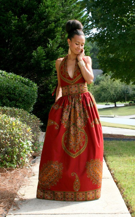 #Slayed - 30 Times African Print Prom Dressed Stole The Scene17