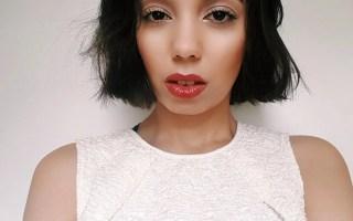 Close up white dress