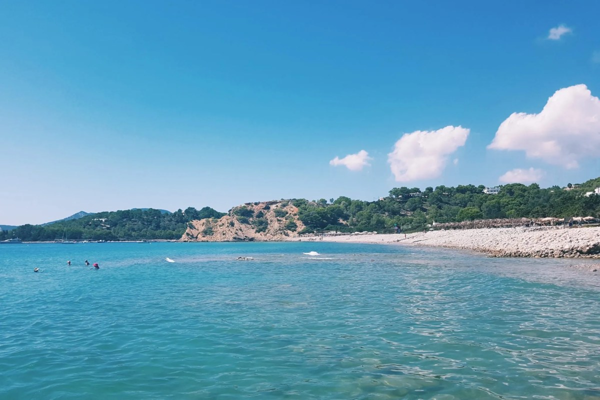 Sea view of Ibiza